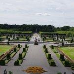 vue du jardin depuis le chateau