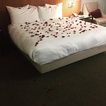 Rose Petal turn down service for Romance Package