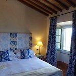 Bedroom with vineyard view.