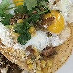 Pork Tostada--Amazing!
