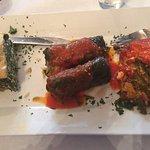 Dinner--- the vegetarian trio!