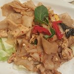 Try it you will like it... panang curry and thai noodle