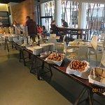 Morning breakfast buffet
