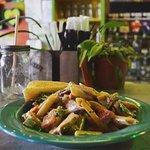 Rasta Pasta and chicken Montego Bay