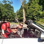 Touring in a BMW Z4