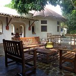 The Courtyard, a beautiful area to relax