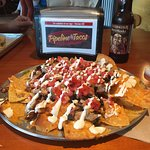 Nachos - huge and delicious