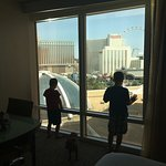 Loved our view of the Strip.