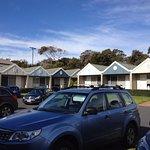 Like a row of beach houses