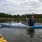 Shannon enjoying kayaking!