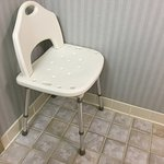 Wow, medical shower tub chair w/back available in this Deluxe Resort View Double Queen room with