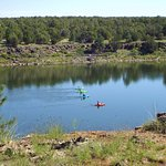 A nice lake for kayaking, especially the northeast section. Bring your own or you can rent some