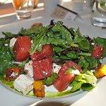Seasonal watermelon salad