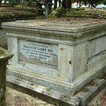 Grave of Capt. Francis Light founder of Georgetown.