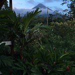 view at the Arenal volcano from my room