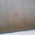 red stain on sofa chair