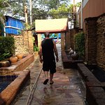 Side entrance that goes out to Patong Beach