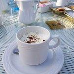 Coffee @ pool area