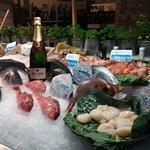 Seafood restaurant Fishop at Barcelona