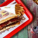 bbq bacon hotdog
