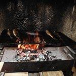 Loups grillés aux feu de bois (serments de vigne)