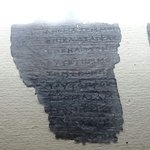Pieces of the oldest surviving European papyrus (the Derveni papyrus)