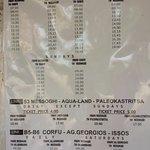 horaires bus proche de l'hotel