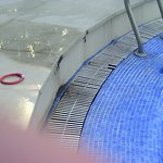 Suciedad piscina