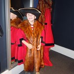 Dressing up as a town dignitary