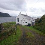 Lochbay boathouse