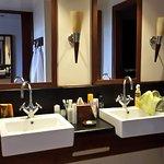 salle de bains, 2 vasques