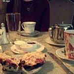 White chocolate and raspbeery scones!!