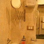 mirror, hair dryer