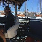Our Tiki tour ride to Centre Island