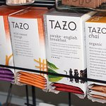 Enjoy a cup of Tazo tea at The Grand