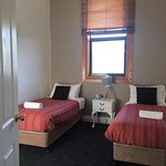 Lovely large apartment with 4 bedrooms 2 bathrooms & full function kitchen. It is a strange loca