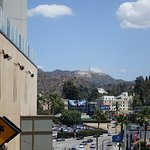 View from adjacent Hollywood & High land