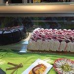 Gran variedad de tartas.