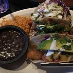 3 Tacos - Shrimp, Steak, California fish