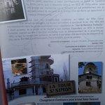 Descriptif de la tour en fin de la carte des menus