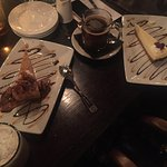 Delightful dining lamb taziki, cheesecake, cappachino & amazing wine selections from Advintage