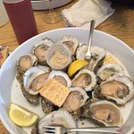 Local oysters at their best.