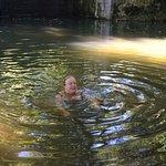 Baño en el río cercano. Un remanso muy agradable.