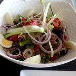 Une très bonne salade niçoise