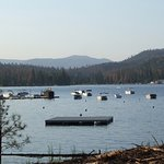 Swimming platform Bass Lake CA