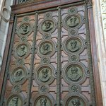 Door at St Stephen's Basilica