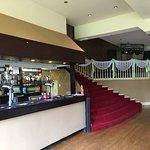 Bar in the ballroom