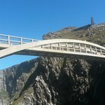 The Mizen bridge - walk over it to see even more beauty.