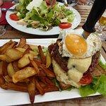 Hamburger façon ch'ti, pour les grosses faims