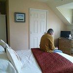 Chambre et vue de la chambre